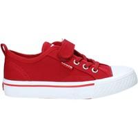 kengät Lapset Matalavartiset tennarit Levi's VORI0005T Punainen