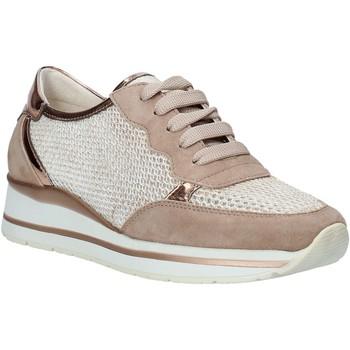 kengät Naiset Matalavartiset tennarit Melluso HR20033 Vaaleanpunainen