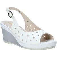 kengät Naiset Sandaalit ja avokkaat Melluso HR70521 Valkoinen