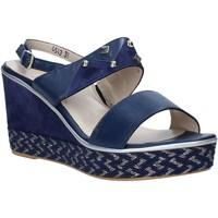 kengät Naiset Sandaalit ja avokkaat Melluso HR70814 Sininen