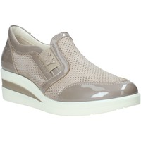 kengät Naiset Tennarit Melluso R2180X Beige