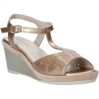 kengät Naiset Sandaalit ja avokkaat Melluso HR70520 Kulta