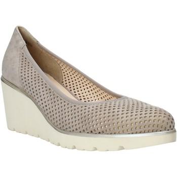kengät Naiset Mokkasiinit Melluso HR2510 Beige