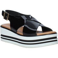 kengät Naiset Sandaalit ja avokkaat Melluso 09603X Musta