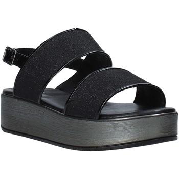 kengät Naiset Sandaalit ja avokkaat Melluso 09620X Musta