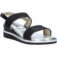 kengät Naiset Sandaalit ja avokkaat Melluso H037073 Musta