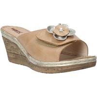 kengät Naiset Sandaalit Melluso H019057 Beige