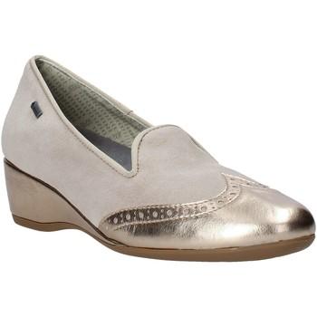 kengät Naiset Mokkasiinit Melluso H08121 Beige