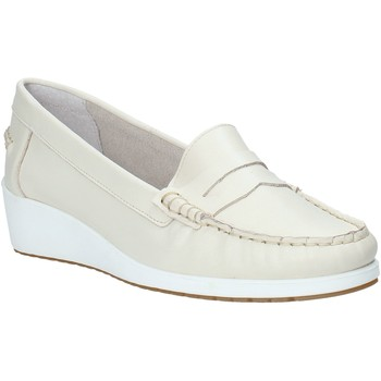 kengät Naiset Mokkasiinit Melluso 0250X Beige