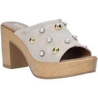 kengät Naiset Sandaalit Melluso HR80101 Harmaa