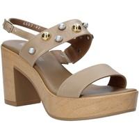 kengät Naiset Sandaalit ja avokkaat Melluso HR80107 Beige