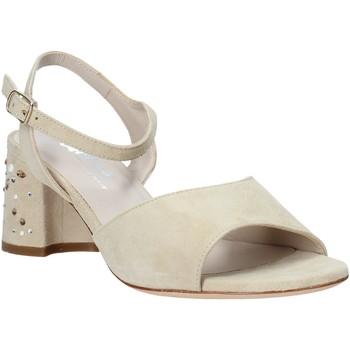 kengät Naiset Sandaalit ja avokkaat Melluso HS531 Beige