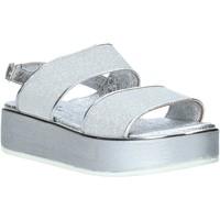 kengät Naiset Sandaalit ja avokkaat Melluso 09620X Hopea