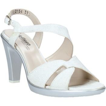kengät Naiset Sandaalit ja avokkaat Melluso HR50138 Hopea