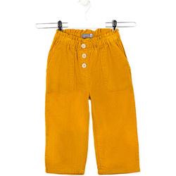 vaatteet Lapset Housut Losan 026-9002AL Keltainen