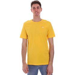 vaatteet Miehet Lyhythihainen t-paita Fila 682201 Keltainen