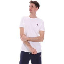 vaatteet Miehet Lyhythihainen t-paita Fila 688567 Valkoinen
