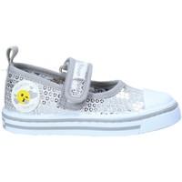 kengät Tytöt Tenniskengät Primigi 7445522 Hopea