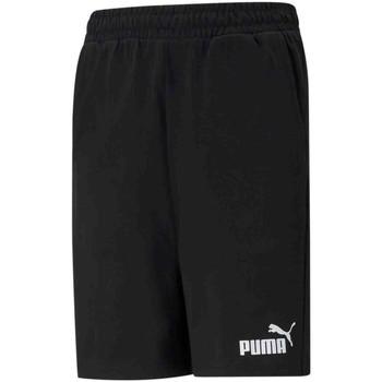 vaatteet Lapset Shortsit / Bermuda-shortsit Puma 586971 Musta
