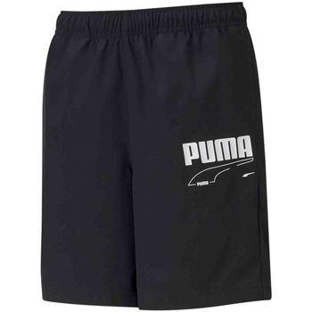 vaatteet Lapset Shortsit / Bermuda-shortsit Puma 587022 Musta