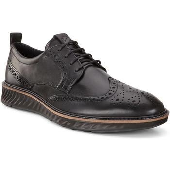 kengät Miehet Derby-kengät Ecco 83642401001 Musta
