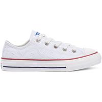 kengät Lapset Matalavartiset tennarit Converse 671098C Valkoinen