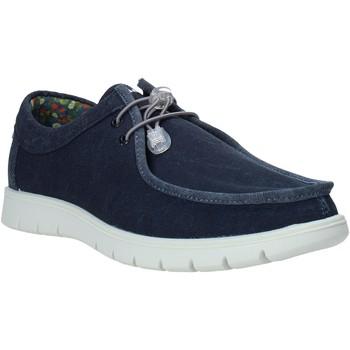 kengät Miehet Mokkasiinit IgI&CO 7118066 Sininen