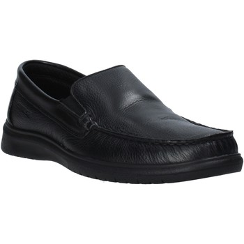 kengät Miehet Mokkasiinit Enval 7213000 Musta