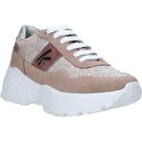 kengät Naiset Matalavartiset tennarit Keys K-4300 Vaaleanpunainen