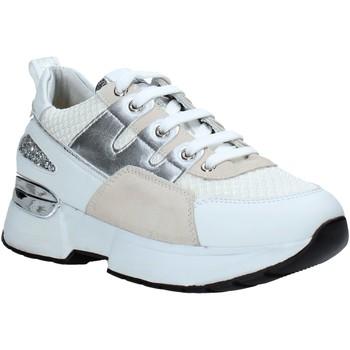 kengät Naiset Matalavartiset tennarit Keys K-4400 Valkoinen