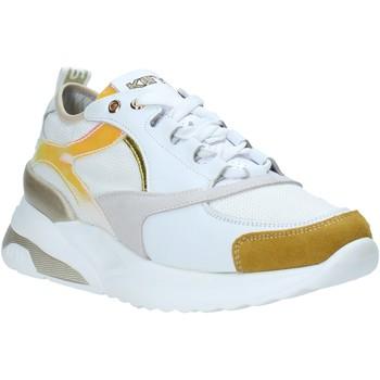 kengät Naiset Matalavartiset tennarit Keys K-4451 Valkoinen