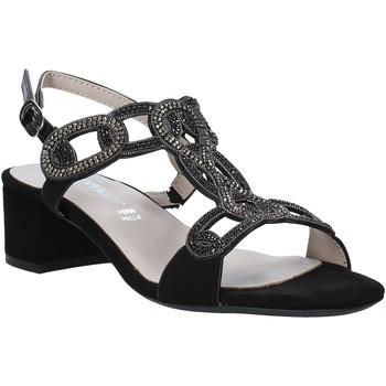 kengät Naiset Sandaalit ja avokkaat Valleverde 45140 Musta