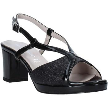 kengät Naiset Sandaalit ja avokkaat Valleverde 46373 Musta