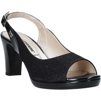 kengät Naiset Sandaalit ja avokkaat Valleverde 28340 Musta