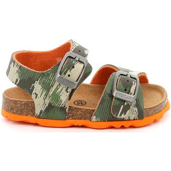 kengät Lapset Sandaalit ja avokkaat Grunland SB0386 Vihreä