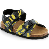 kengät Lapset Sandaalit ja avokkaat Grunland SB0969 Keltainen