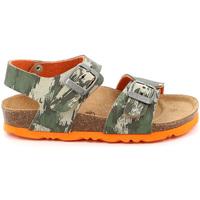 kengät Lapset Sandaalit ja avokkaat Grunland SB1226 Vihreä