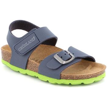 kengät Lapset Sandaalit ja avokkaat Grunland SB0234 Sininen