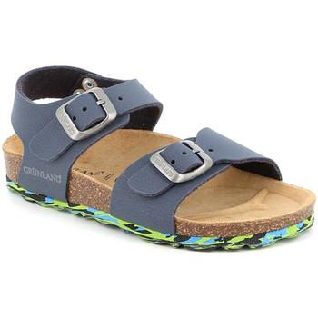 kengät Lapset Sandaalit ja avokkaat Grunland SB1644 Sininen