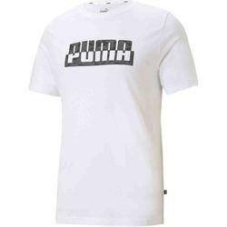 vaatteet Miehet Lyhythihainen t-paita Puma 588497 Valkoinen
