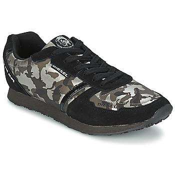 kengät Naiset Matalavartiset tennarit Diesel CAMOUFLAGE Musta
