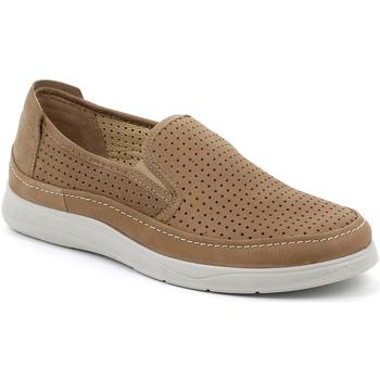 kengät Miehet Tennarit Grunland SC5196 Ruskea