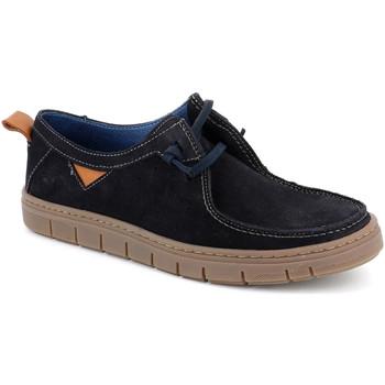 kengät Miehet Mokkasiinit Grunland SC5034 Sininen