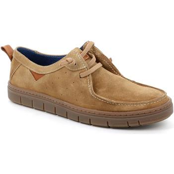 kengät Miehet Mokkasiinit Grunland SC5034 Beige