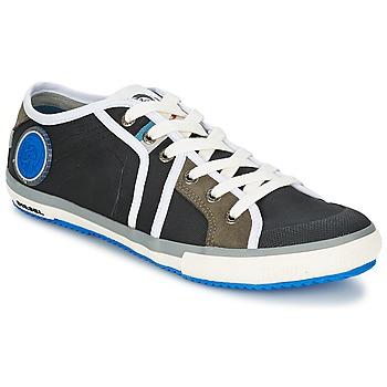 kengät Miehet Matalavartiset tennarit Diesel Basket Diesel Musta