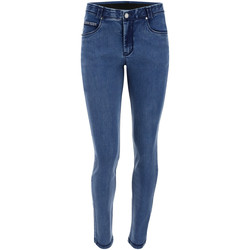 vaatteet Naiset Skinny-farkut Freddy BLACK1RS101 Sininen