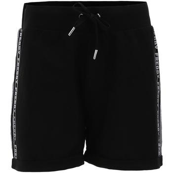 vaatteet Naiset Shortsit / Bermuda-shortsit Freddy S1WCLP3 Musta