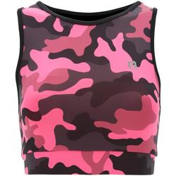 vaatteet Naiset Urheiluliivit Freddy S1WFTB2C Vaaleanpunainen