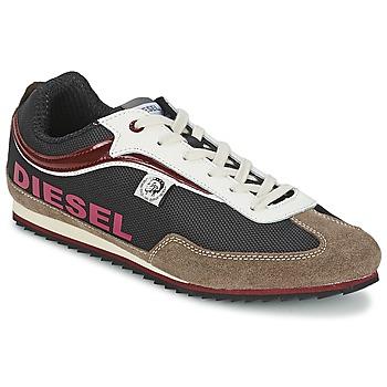 kengät Miehet Matalavartiset tennarit Diesel Basket Diesel Ruskea