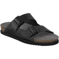kengät Miehet Sandaalit Mephisto P5113481 Musta